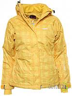 Женская горнолыжная куртка от ENVY Balsas III YELLOW в размере XXL