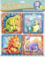 """Декорации для детской комнаты """"Динозавры"""", наклейки,наклейки на стены,альбом,магазин книги,магазин наклеек"""