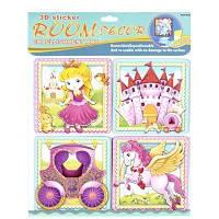 """Декорации для детской комнаты """"Принцесса"""", наклейки,наклейки на стены,альбом,магазин книги,магазин наклеек"""