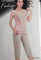Женский комплект брижди и футболка арт 7247