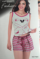 Женский комплект шорты и майка арт 7765