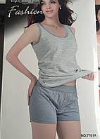 Женский комплект шорты и майка арт 7761