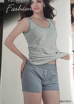 Жіночий комплект шорти і майка арт 7761