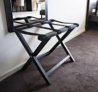 Стойка для багажа деревянная черная