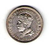 Австралия 1 флорин 1927 Георг V серебро, фото 2