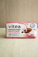 Крем-мыло Vitea (молоко и масло миндаля) 100 г.