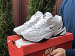 Чоловічі кросівки Nike M2K Tekno (біло-чорні) 10114, фото 2