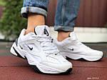 Чоловічі кросівки Nike M2K Tekno (біло-чорні) 10114, фото 3