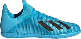 Детские футзалки adidas X 19.3 IN Jr. Оригинал. Eur 38 (24 см).