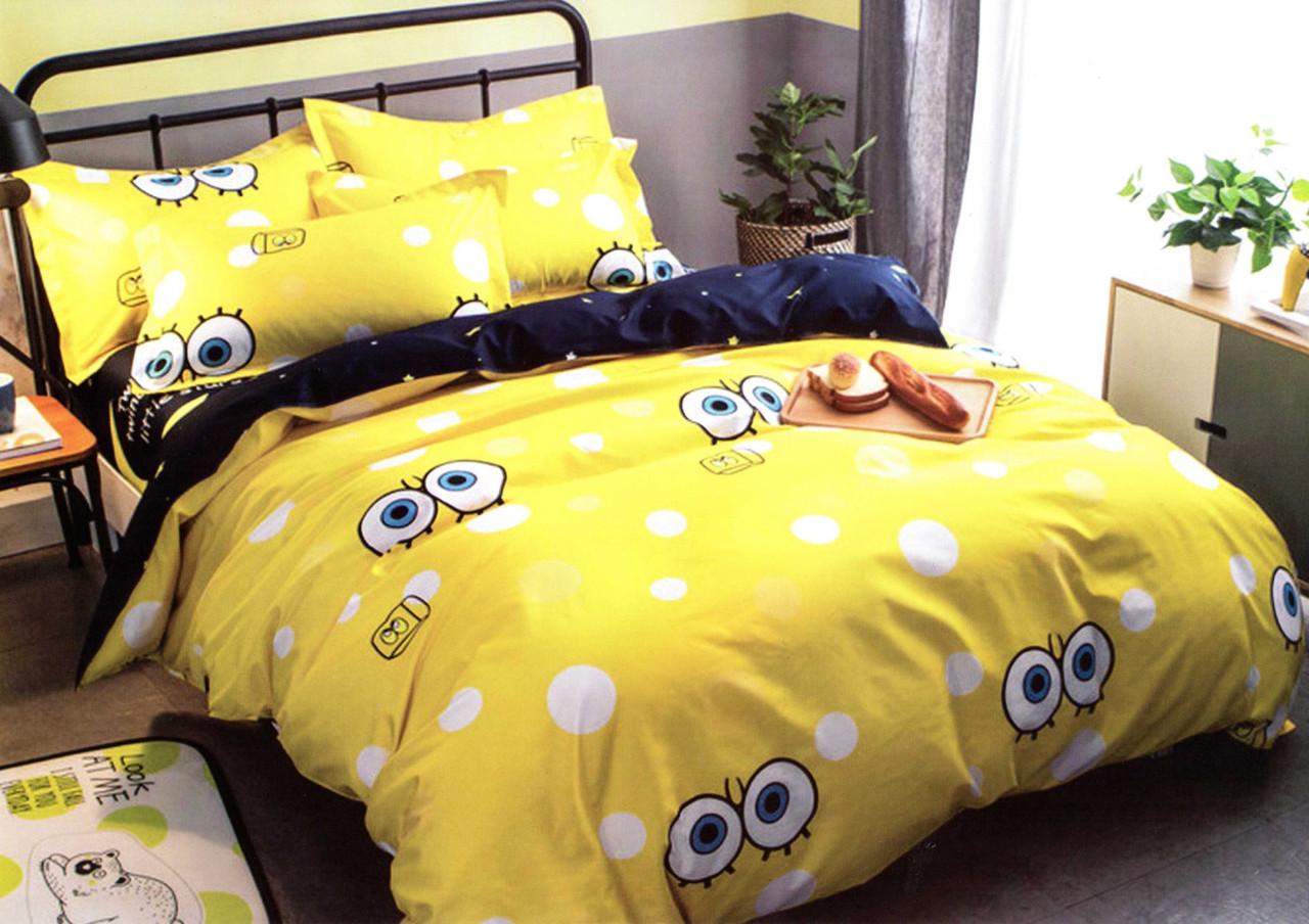 Комплект постельного белья подростковый Губка Боб
