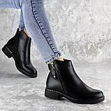 Ботинки женские зимние Fashion Jasper 2290 38 размер 24,5 см Черный, фото 3
