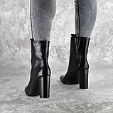 Ботинки женские на каблуке Fashion Magintey 2369 35 размер 23 см Черный, фото 5