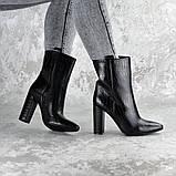 Ботинки женские на каблуке Fashion Magintey 2369 35 размер 23 см Черный, фото 6
