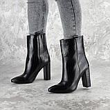 Ботинки женские на каблуке Fashion Magintey 2369 35 размер 23 см Черный, фото 9