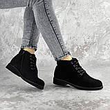Ботинки женские Fashion Plushbottom 2382 36 размер 23,5 см Черный, фото 4