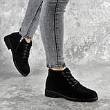 Ботинки женские Fashion Plushbottom 2382 36 размер 23,5 см Черный, фото 5