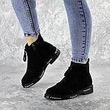 Ботинки женские Fashion Sabastian 2386 36 размер 23,5 см Черный, фото 2
