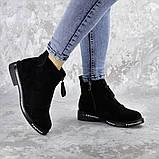 Ботинки женские Fashion Sabastian 2386 36 размер 23,5 см Черный, фото 3