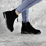 Ботинки женские Fashion Sabastian 2386 36 размер 23,5 см Черный, фото 4