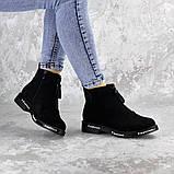 Ботинки женские Fashion Sabastian 2386 36 размер 23,5 см Черный, фото 5