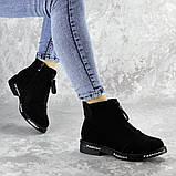 Ботинки женские Fashion Sabastian 2386 36 размер 23,5 см Черный, фото 6