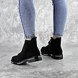 Ботинки женские Fashion Sabastian 2386 36 размер 23,5 см Черный, фото 7