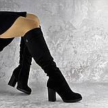 Ботфорты женские Fashion Jeter 2271 38 размер 24,5 см Черный, фото 2
