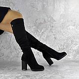Ботфорты женские Fashion Jeter 2271 38 размер 24,5 см Черный, фото 3
