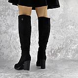 Ботфорты женские Fashion Jeter 2271 38 размер 24,5 см Черный, фото 4