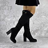 Ботфорты женские Fashion Jeter 2271 38 размер 24,5 см Черный, фото 6