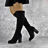 Ботфорты женские Fashion Jeter 2271 38 размер 24,5 см Черный, фото 8