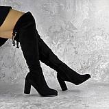 Ботфорты женские Fashion Kawii 2284 37 размер 24 см Черный, фото 2