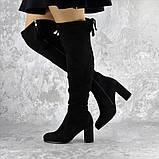 Ботфорты женские Fashion Kawii 2284 37 размер 24 см Черный, фото 3
