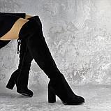 Ботфорты женские Fashion Kawii 2284 37 размер 24 см Черный, фото 8
