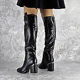 Ботфорты женские Fashion Lippy 2312 37 размер 24 см Черный, фото 2