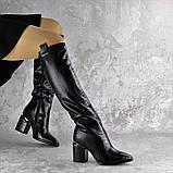 Ботфорты женские Fashion Lippy 2312 37 размер 24 см Черный, фото 3