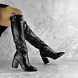Ботфорты женские Fashion Lippy 2312 37 размер 24 см Черный, фото 4
