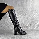 Ботфорты женские Fashion Lippy 2312 37 размер 24 см Черный, фото 7