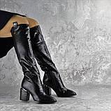 Ботфорты женские Fashion Lippy 2312 37 размер 24 см Черный, фото 8