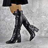 Ботфорты женские Fashion Lippy 2312 37 размер 24 см Черный, фото 9