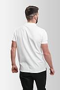 Футболка поло мужская Белая, фото 3