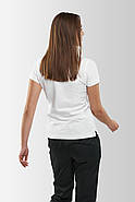 Футболка поло женская Белая, фото 2