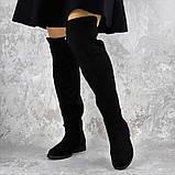Женские ботфорты Fashion Cliff 1449 37 размер 24 см Черный, фото 5