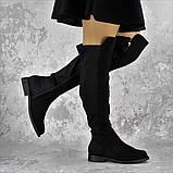 Женские ботфорты Fashion Cliff 1449 37 размер 24 см Черный, фото 6