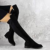 Женские ботфорты Fashion Cliff 1449 37 размер 24 см Черный, фото 7