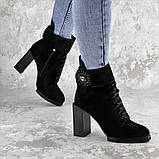 Женские зимние сапоги Fashion Elway 1317 40 размер 26 см Черный, фото 3