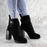 Женские зимние сапоги Fashion Elway 1317 40 размер 26 см Черный, фото 4