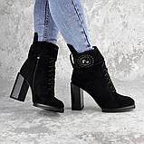 Женские зимние сапоги Fashion Elway 1317 40 размер 26 см Черный, фото 5