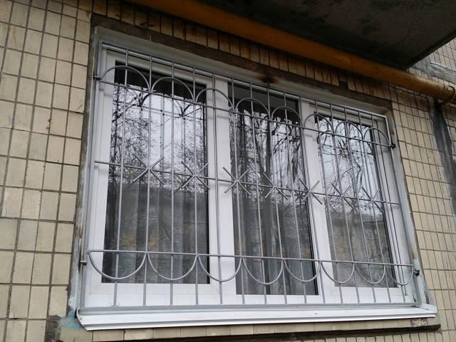 Сварные решетки на окна