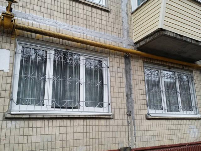 Сварные решетки на окна 2